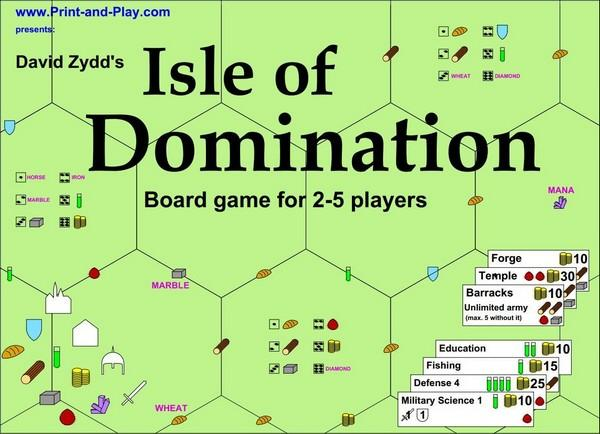 Isle of Domination - Harc a szigetért